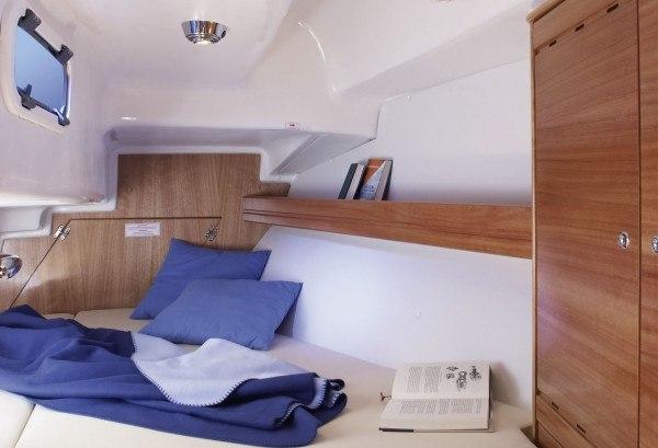Bavaria 33 Cruiser - Doppelbett hinten