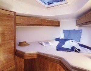Bavaria 33 Cruiser - Doppelbet in der Kabine vorne