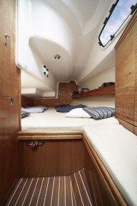 Bavaria 35 Cruiser - Geräumige Kabine hinten mit Doppelbett