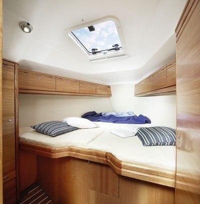 Bavaria 35 Cruiser - Geräumige Kabine mit Doppelbett vorne