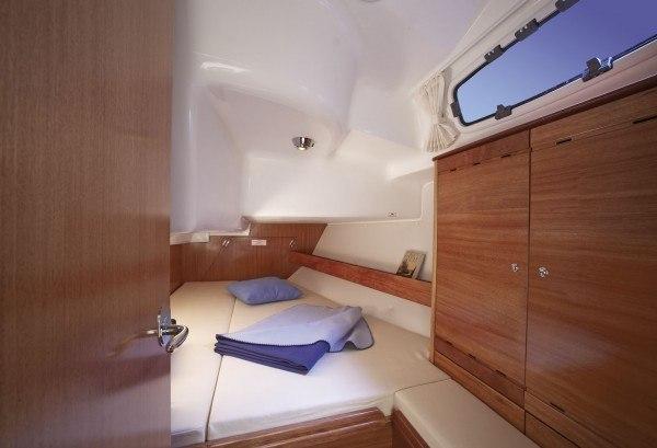 Bavaria 37 - Kabine hinten mit Doppelbett