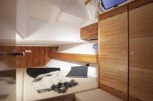 Bavaria 39 - Kabine hinten mit Doppelbett