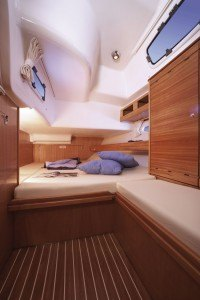 Bavaria 46 Cruiser - Kabine hinten mit Doppelbett