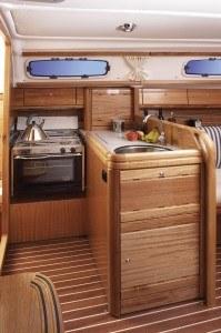 Bavaria 30 Cruiser - Küche