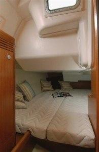 Beneteau Oceanis 34 - Kabine hinten mit Dippelbett